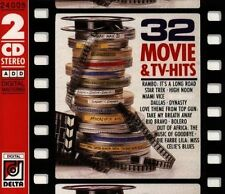 32 Movie & TV-Hits Dallas, Star Trek, High Noon, Rambo..It's a long Roa.. [2 CD]