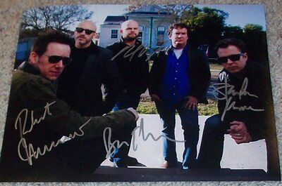 Music Objective Galactic Group Signed Autograph 8x10 Photo D W/proof By All 5 Members Refreshment