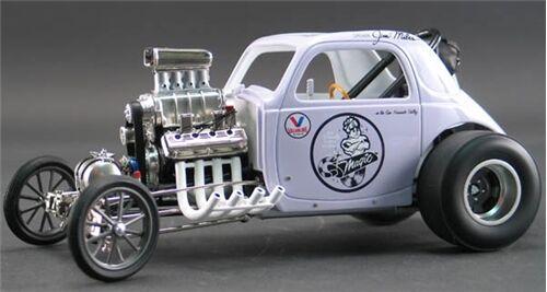 1  18 Acme GMP Fiat magi Muffler Altröd Jim Miles A1800802