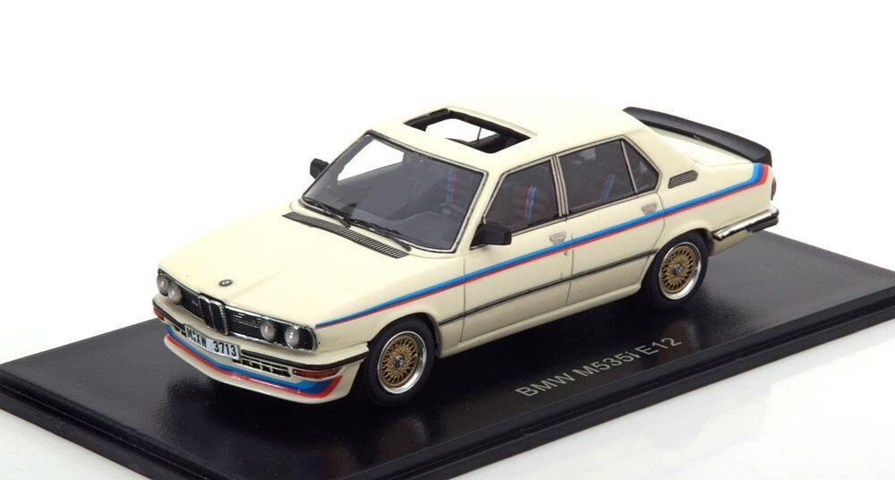 BMW M535I E12 1978 WHITE NEO NEO NEO 43470 1/43 BIANCA BLANCHE WEISS RESIN RESINE 6b85b4