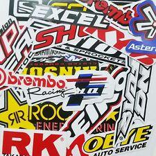 60 MIXED RANDOM STICKER DECAL CAR ATV BIKE RACING HELMET MOTORCROSS DIRT BMX # B