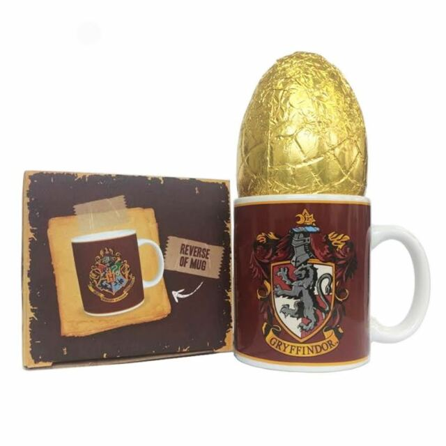 Harry potter gift set gryffindor mug easter egg ebay harry potter gift set gryffindor mug easter chocolate egg negle Image collections