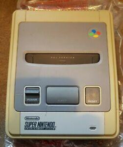 Details about Super Nintendo Entertainment System Console (PAL)