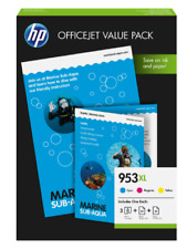 Artikelbild HP 953XL Tintenpatrone Office Value Pack Inkl. 75 Blatt A4 Fotopapier