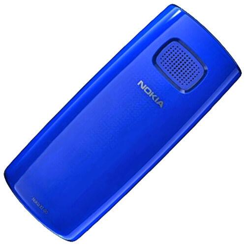 Nokia X1-00 original Akkudeckel blau Batterie Deckel Back Cover Akkufachdeckel