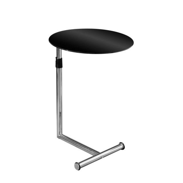 Snack Table Contemporary Design Stylish Elegant Lightweight Adjustable Height