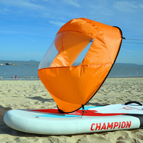 42 Compact Grand Vent Voile Paddle Board Kayak Downwind Popup Voile
