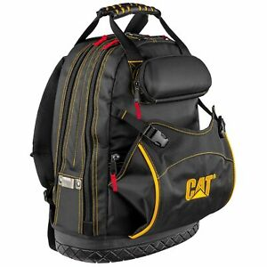 Cat-18-in-Pro-Tool-Backpack-31-Pockets-Laptop-Sleeve-1680D-Polyester-240049