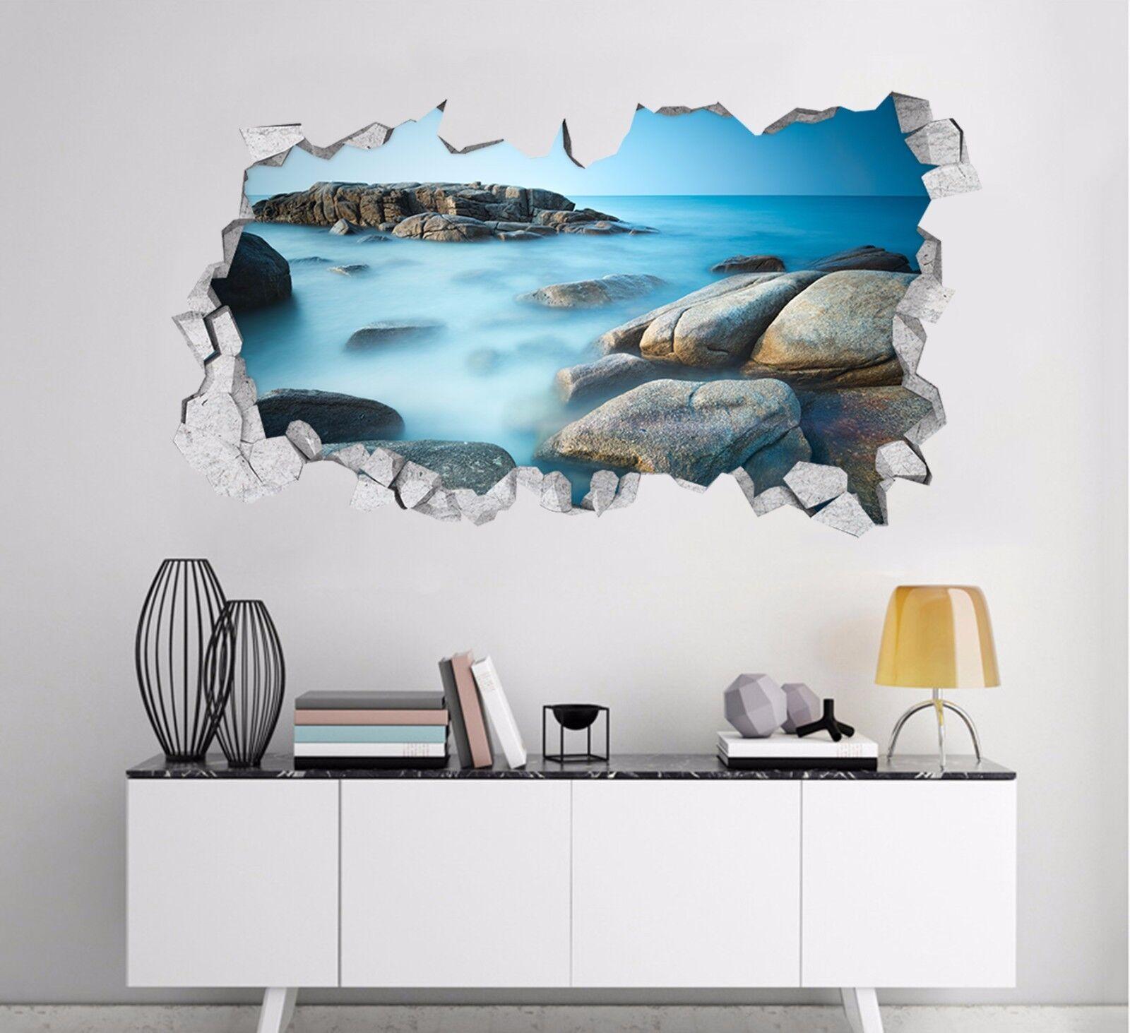 3D Pietre Del Mare 133 Parete Murales Adesivi Decal Sfondamento AJ WALLPAPER IT