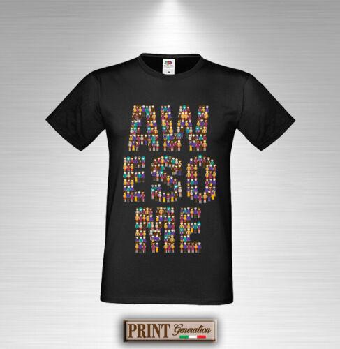 T-Shirt Bedruckt Außergewöhnliche Wort Schriftzug Personen Damen Herren Slimfit