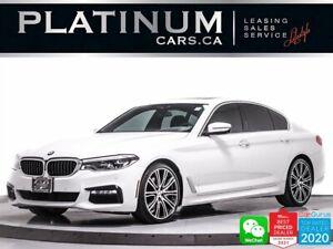 2018 BMW 5 Series 530i xDrive, AWD, MSPORT, 360CAM, SPORT SEATS