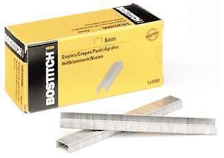 Heftklammern BOSTITCH STCR 26191//4 6 mmverzinkt 5.000 Stück