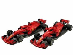 Nuevo-Ferrari-F1-Vettel-Raikkonen-1-43-modelo-de-coche-de-Formula-Uno-Juguete-DIE-CAST
