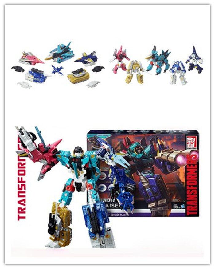 Transformers Platinum Edition Combinador Robot Juguete Regalo Navidad guerras liokaiser caliente