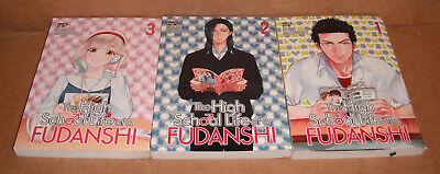 1,2 Manga Graphic Novels English The High School Life of a Fudanshi Vol