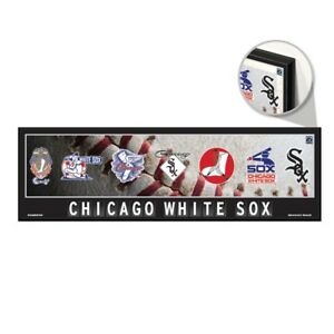 Chicago White Sox Wood Sign