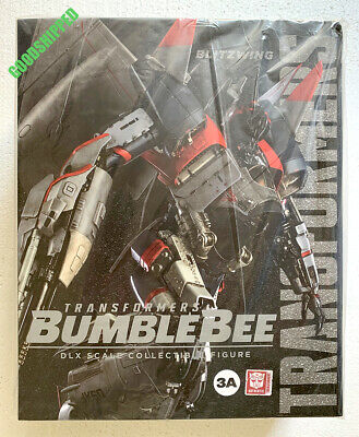 """3A HASBRO TRANSFORMERS BUMBLEBEE BLITZWING DLX SCALE 10.6/"""" 270MM LED EYES NEW"""