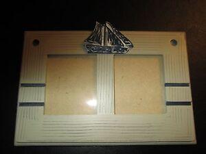Sailboat-Theme-Double-Photo-Frame-Wood-Nautical-Decor