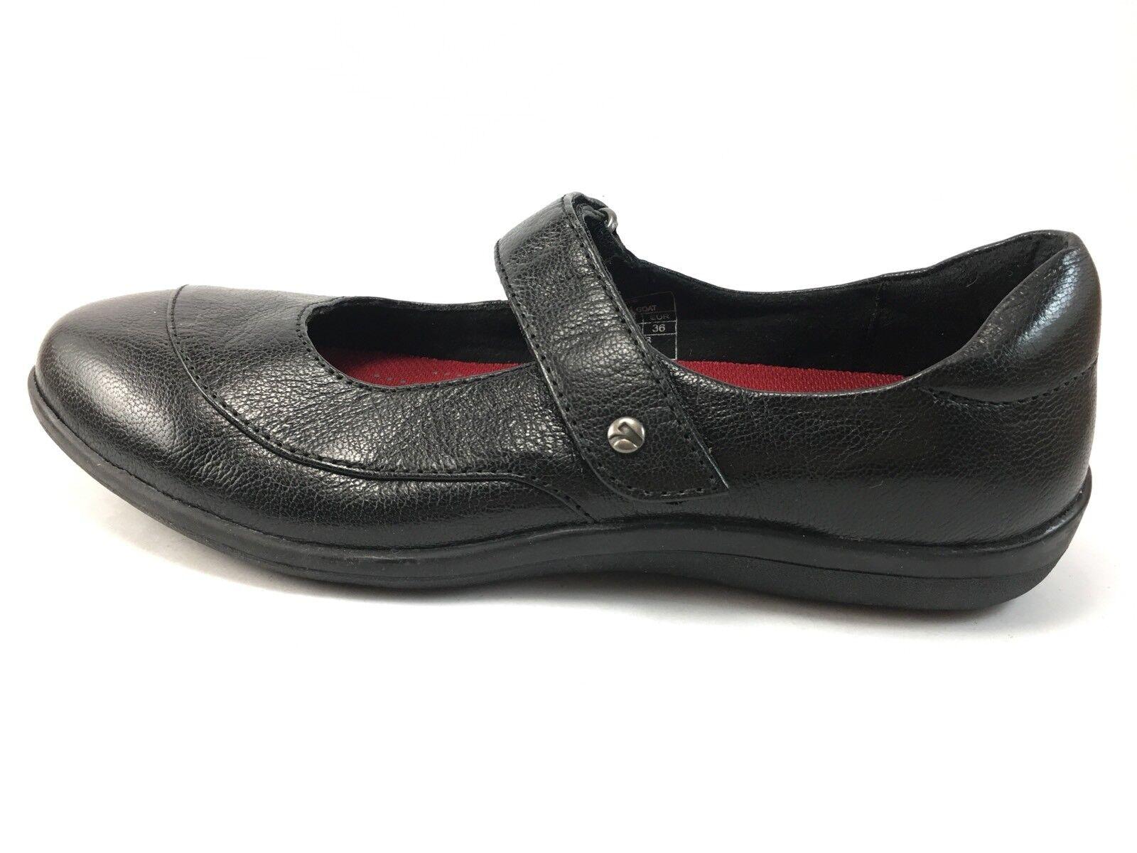 forma unica Revere donna's Amalfi nero Goat Flat scarpe Dimensione 5 5 5 M  economico online