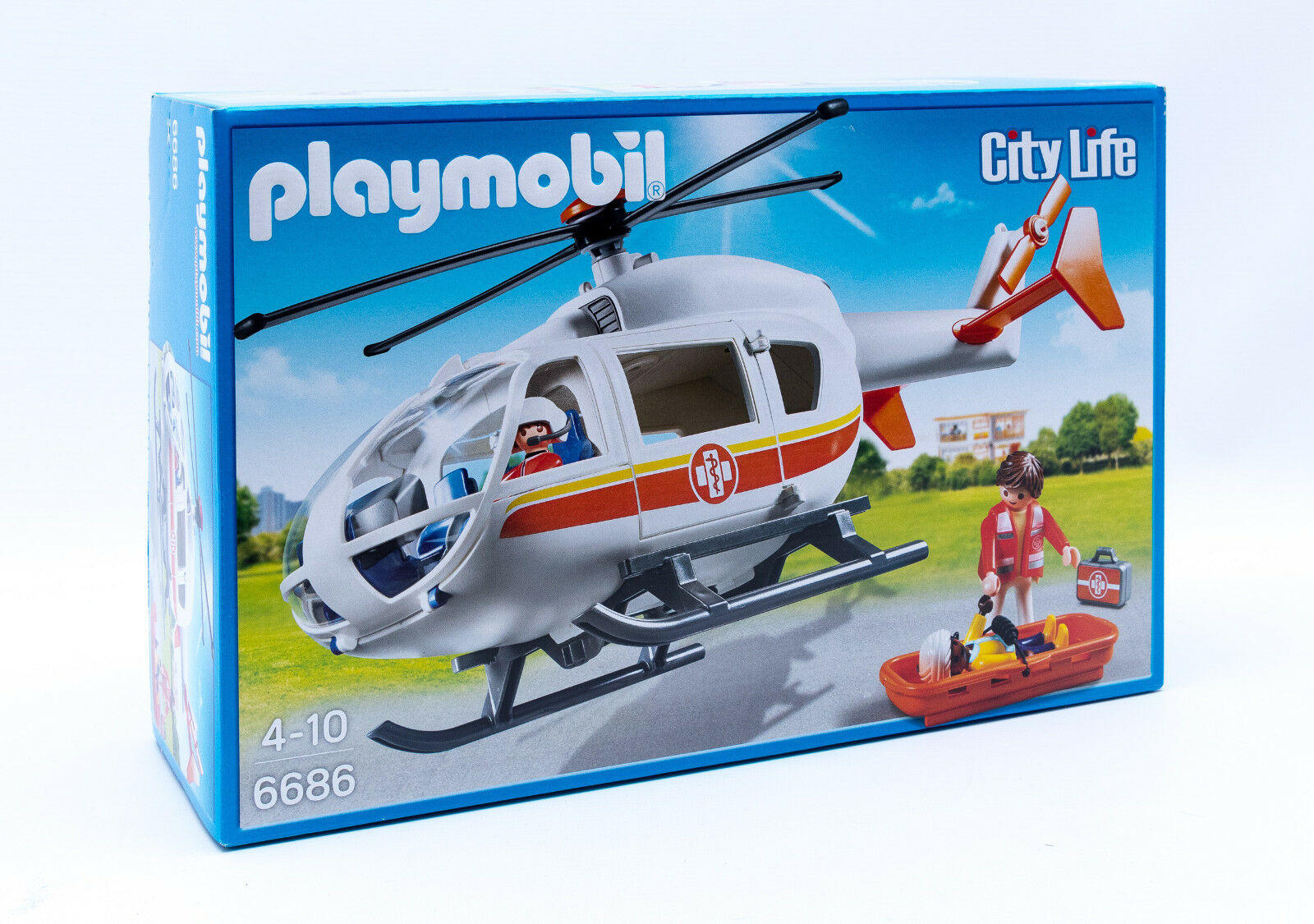 Playmobil 6686 –  Hlicoptre Mdical Hélicoptère avec Figurines Neuf Embtuttiage  essere molto richiesto