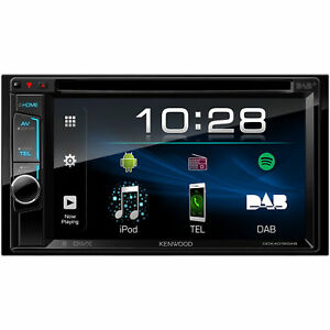 Kenwood DDX4018DAB 2 DIN Bluetooth Autoradio mit Touchscreen - Schwarz