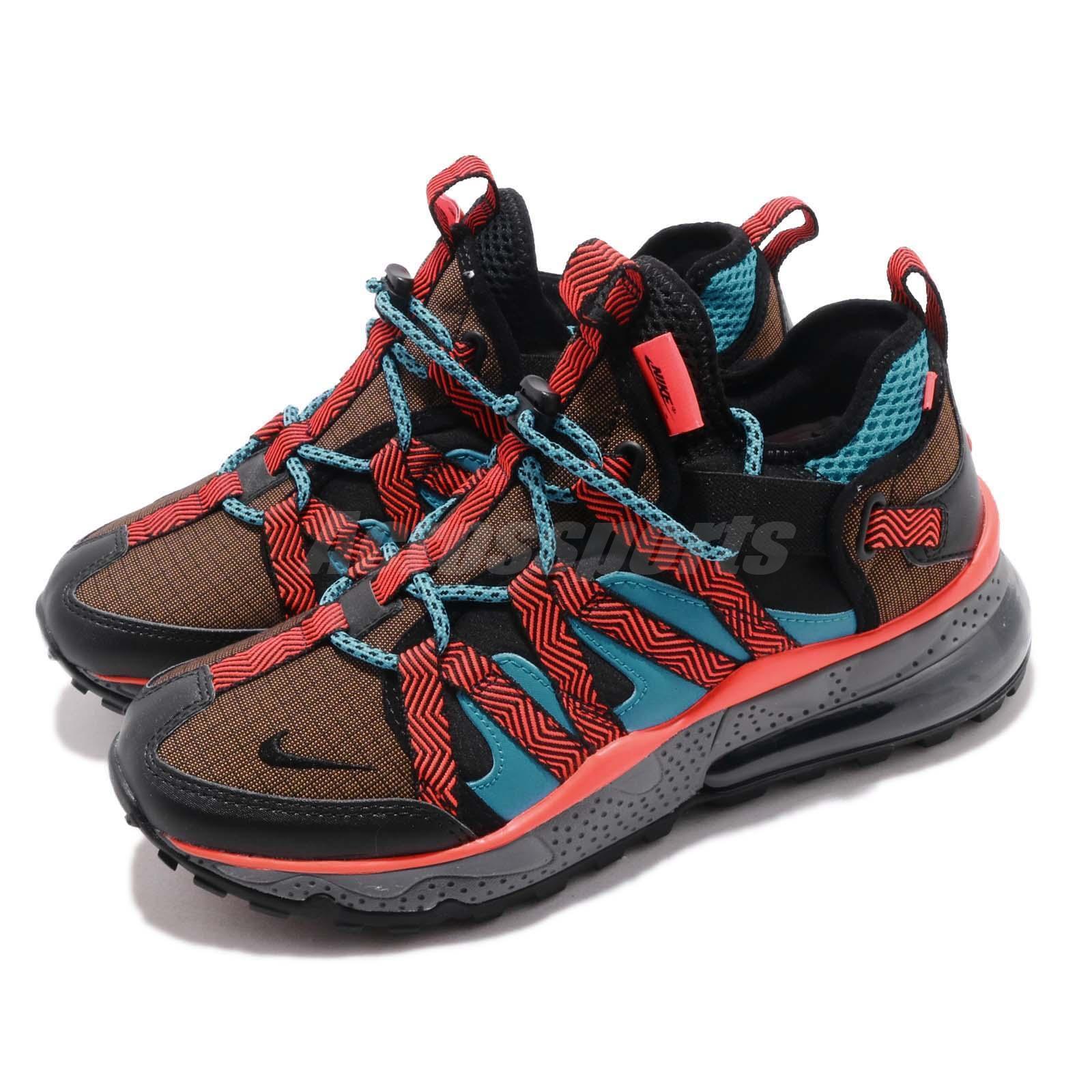 Nike Air Max 270 BOWFIN Dark Russet Black orange bluee Mens shoes AJ7200-200