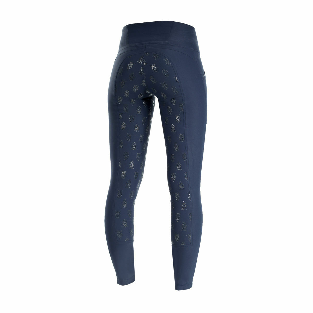 Ladies Horze Leah blueE  Silicone Grip Riding Tights English Hunt Seat Breeches  high-quality merchandise and convenient, honest service