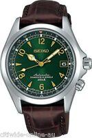 Seiko Sarb017 Mechanical Alpinist Automatic Mens Wrist Leather Watch