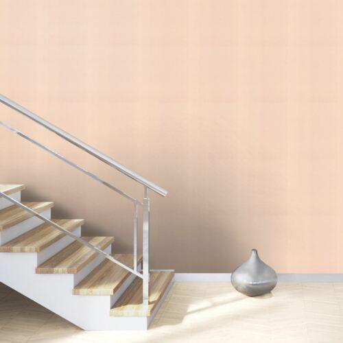 Rasch Exotic Deco Plain Wallpaper Luxury Modern Textured Non Woven Peach 806830
