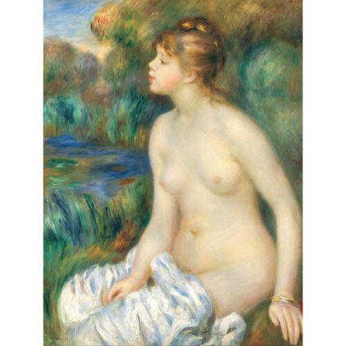 Pierre Auguste Renoir Bather Extra Large Art Poster