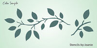 Prim Vine Lg. Stencil Leaf Twig Leaves Tree Branch Botanical Wall Yard Art Sign