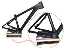 "26er Ultralight Carbon MTB Frame Mountain Bike Headset 3K Matte Frames 14""/16"""