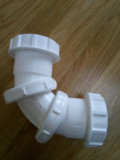 Universal Compression Waste Straight Coupling 40mm