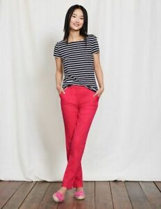 Boden-Damenhose-Rachel-Chino-Pants-Chinohose-Pink-Stretch-NEU-UK-10-P-EU-38