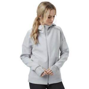 Pulse Hoodie Running Zne Top Hoody Womens Zip Tracksuit Adidas Sleeve Track Long xUqTHT