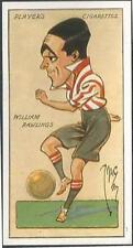 """PLAYERS 1927 FOOTBALL CARICATURES BY """"MAC""""- #28-SOUTHAMPTON-WILLIAM RAWLINGS"""
