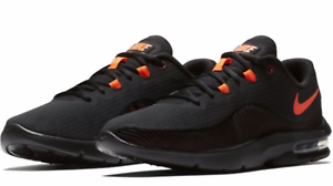 bb9ef74ae9 Nike Air Max Advantage 2 Running Shoes Black Crimson Orange AA7396 ...