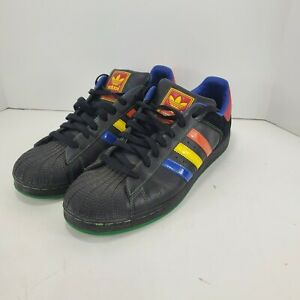 Adidas Superstar Sneakers Shoes Black
