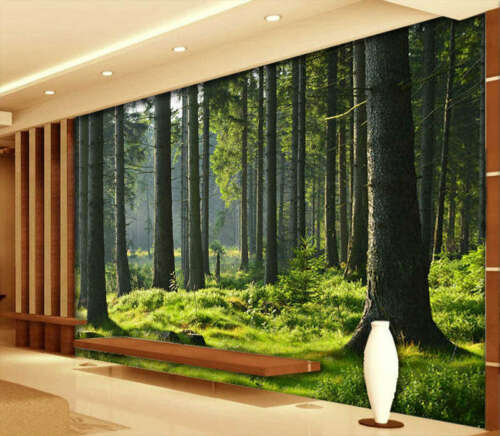 Primeval Forest 3D Full Wall Mural Photo Wallpaper Printing Home Kids Decoration