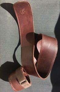 Basson Fagott Seat Strap Leather High Quality Professionaly Handmade Signed