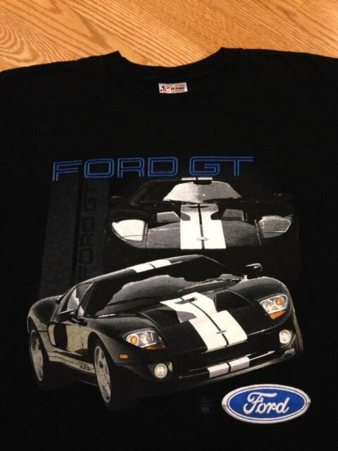Vintage Ford Gt T Shirt Racing Super Car Nascar Chase Authentics M L
