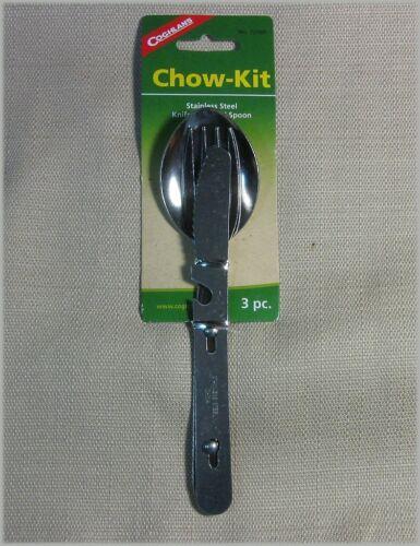 Coghlan/'s 0721BP Chow Kit Stainless Steel Utensils