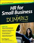 HR for Small Business for Dummies by Paul Maguire (Paperback, 2013)