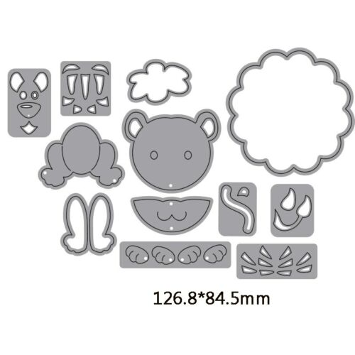 Lovely Animals Mixed Cutting Dies Stencil Scrapbooking Photo album Embossing DIY