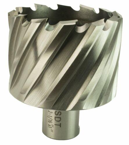 "Steel Dragon Tools® 2-1//16/"" x 1/"" HSS Annular Cutter with 3//4/"" Weldon Shank"