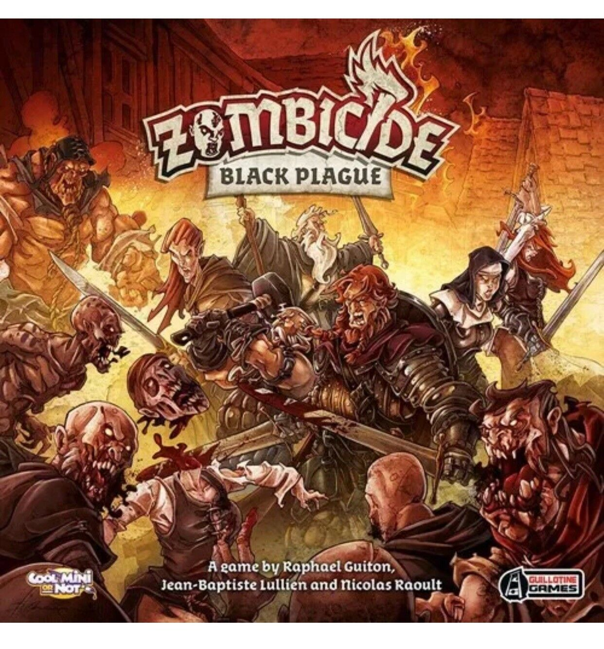 Zombicide PESTE NERA MADE to Order PRO PAINTED