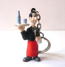 Porte clé Vittel Figurine serveur 1960  Vittel Keychain Key ring 1960s