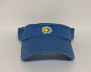 Masters-Augusta-National-Golf-Magnolia-Lane-Adjustable-Visor-Cap-Hat-Blue