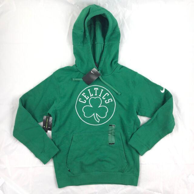 Nike Nba Boston Celtics Courtside Hoodie Green