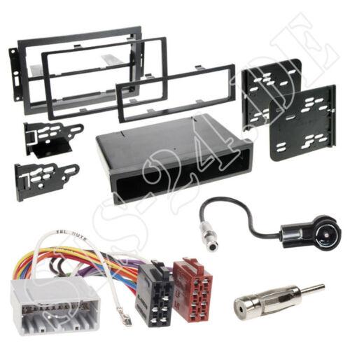 Jeep Patriot Compass 1-DIN Autoradio Blende Einbaurahmen ISO Adapter Komplettset